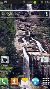 Nature Rocks Waterfall LWP