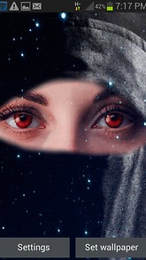 Red Eyes Live Wallpaper