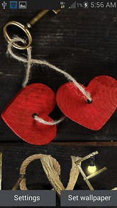 Red Hearts Key LWP