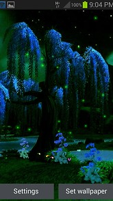 Night Magic Live Wallpaper