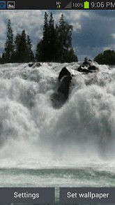 River Flow Live Wallpaper