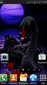 Black Swan Live Wallpaper