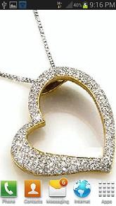 Diamond Heart Necklace LWP
