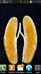 Orange Heart Beat LWP