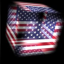 3D USA Flag Live Wallpaper