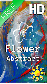 Flower Abstract Live Wallpaper