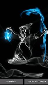 Death Smoke Live Wallpaper